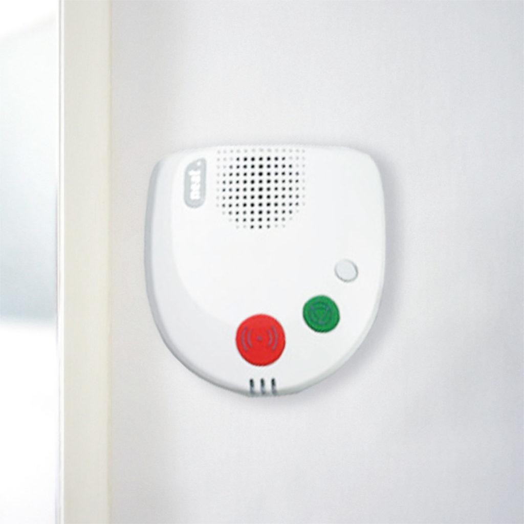 Ein Bild vom Haus-Notruf-System